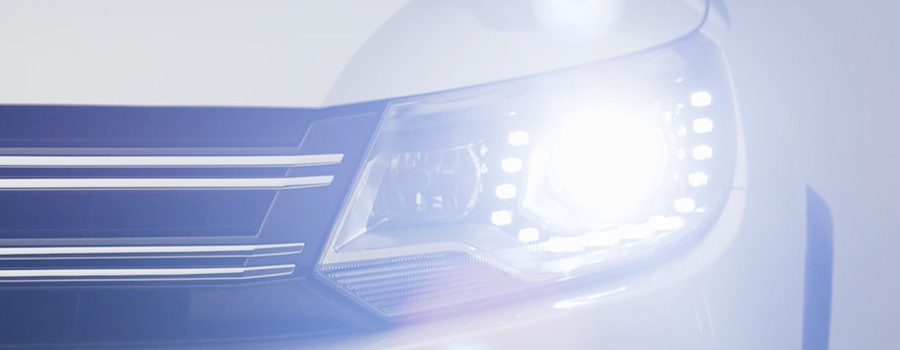 headlights with LED Daytime Running Lights